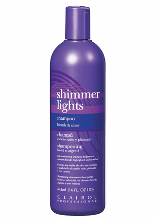 Clairol Shimmer Lights Shampoo Blonde and Silver - 16oz - Barber World