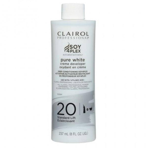 Clairol Soy 4 Plex Pure White Creme Developer 20 Volume - Barber World
