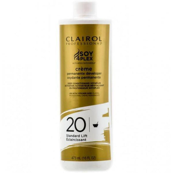 Clairol Soy 4 Plex Creme Permanente Developer 20 Volume - 16oz