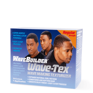 WaveBuilder Wave-Tex Wave Making Texturizer Kit - 1 Application - Barber World