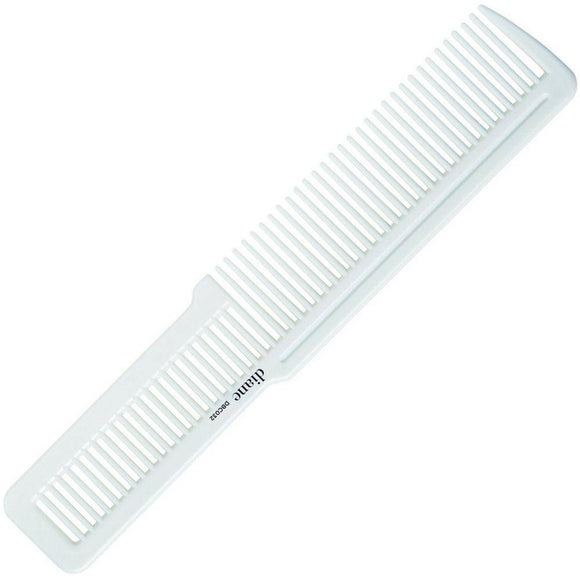 Diane Flat Top Comb White 8