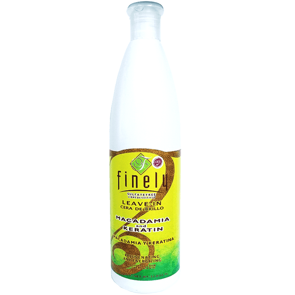 Finely Macadamia and Keratin Leave-In - 33.8oz