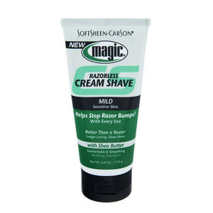 Magic Razorless Cream Shave Mild Strength - 6oz - Barber World