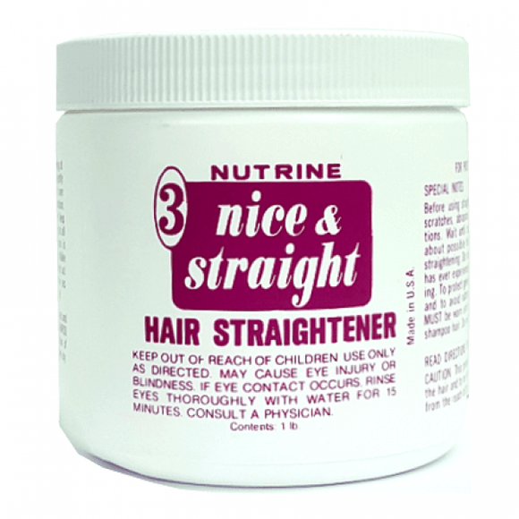 Nutrine Nice & Straight Hair Straightener - 16oz