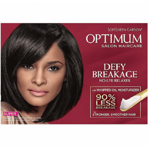 Optimum Care Salon Collection Defy Breakage No Lye Relaxer Super - 1 Application