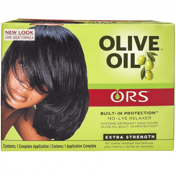 ORS Olive Oil Built-In Protection No-Lye Hair Relaxer Extra Strength - 1 Application