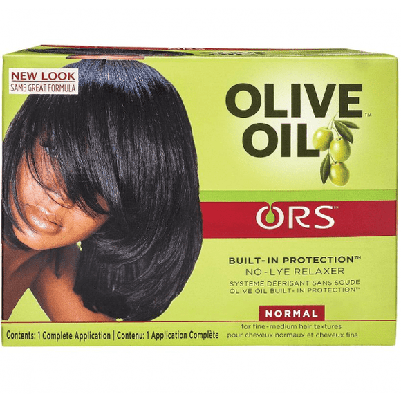 ORS Olive Oil Built-In Protection No-Lye Hair Relaxer Normal Strength - 1 Application