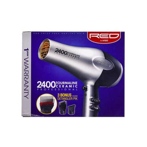 Red by Kiss 2400 Tourmaline Ceramic Blow Dryer