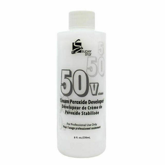 Marianna Super Star Cream Peroxide Developer 50 Volume - 4oz - Barber World