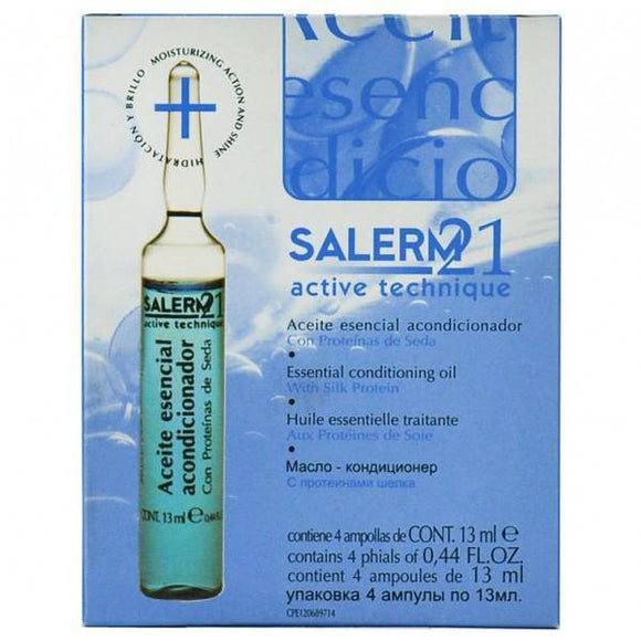 Salerm 21 Active Technique Essential Conditioning Oil 0.44oz - 4 Vials