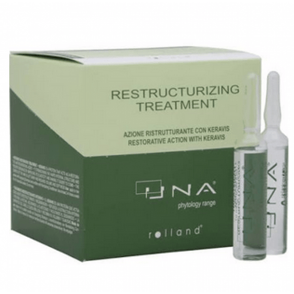 Una Restructurizing Treatment Amples 0.34oz - 12 Vials - Barber World