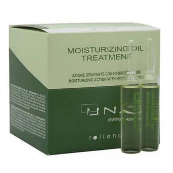 Una Moisturizing Oil Treatment Amples 0.34oz - 12 Vials - Barber World