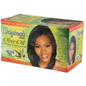 Africa's Best Organics Olive Oil Conditioning Relaxer Super - 1 Application - Barber World