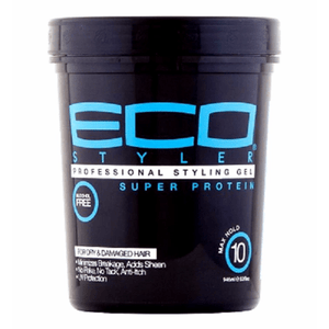Eco Style Professional Super Protein Styling Gel - 32oz - Barber World