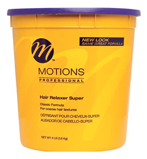 Motions Classic Formula Hair Relaxer Super - 4Lbs - Barber World