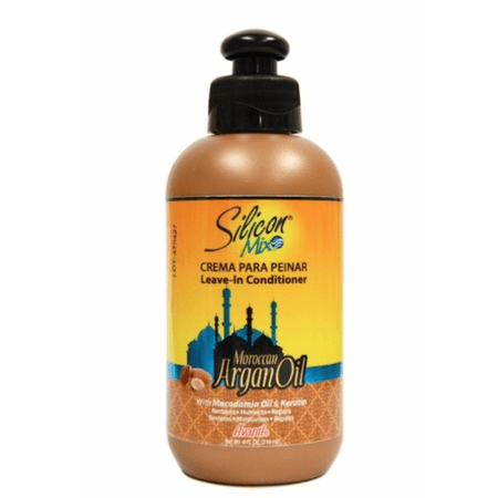 Silicon Mix Moroccan Argan Oil Leave In Conditioner - 8oz - Barber World