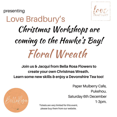 Christmas Wreath Workshop 6th December