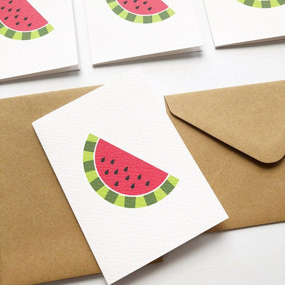 Mini Blank Gift Card | Watermelon