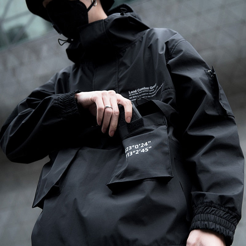 """Black Hole"" 11BB Windbreaker Jacket"