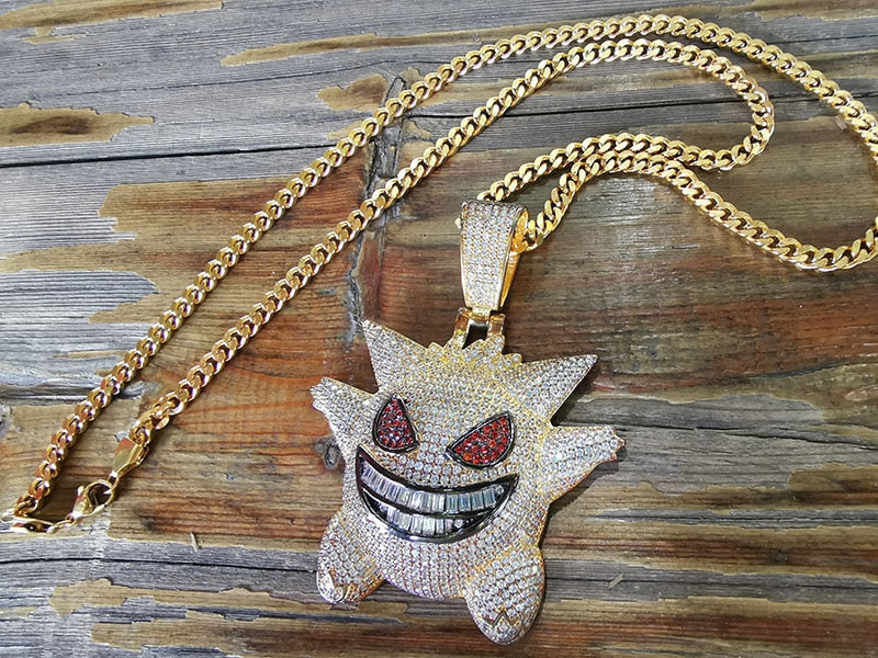"""Gengar"" Pendant Necklace"