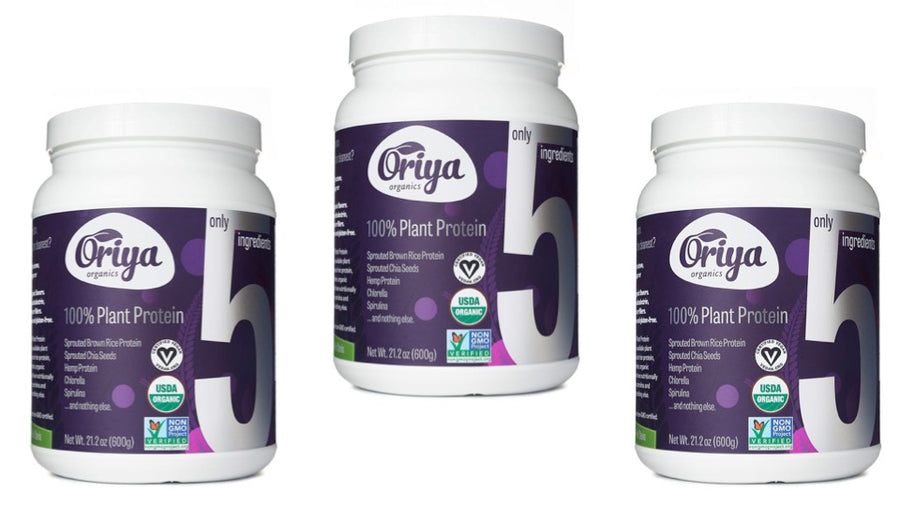 100% Plant Protein (3 Pack)
