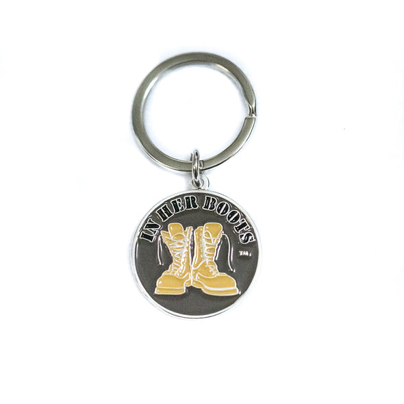 'In Her Boots' Key Chain