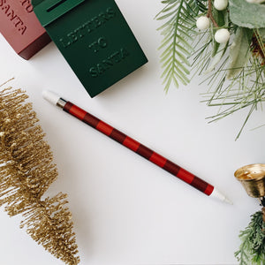 Wintery Apple Pencil Wrap - lefty.script