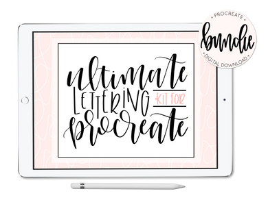 Ultimate Lettering Kit for Procreate - lefty.script