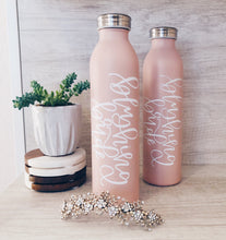 Blushing Bride - Stainless Steel Water Bottle - lefty.script