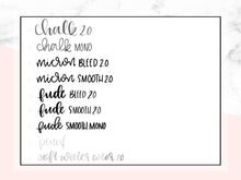 Lettering Essentials for Procreate - lefty.script