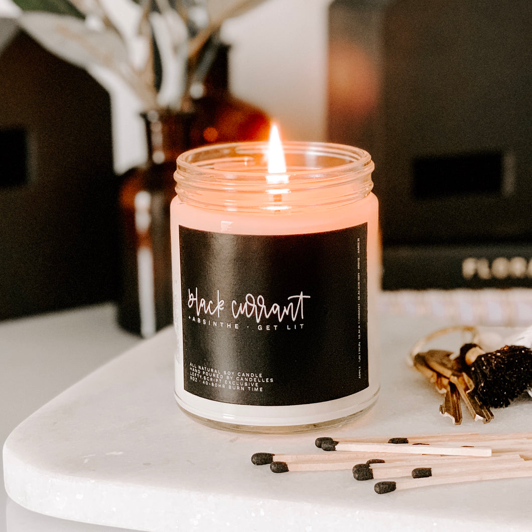 Black Currant Candle - lefty.script