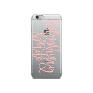 Blushing Bride - iPhone Case - lefty.script