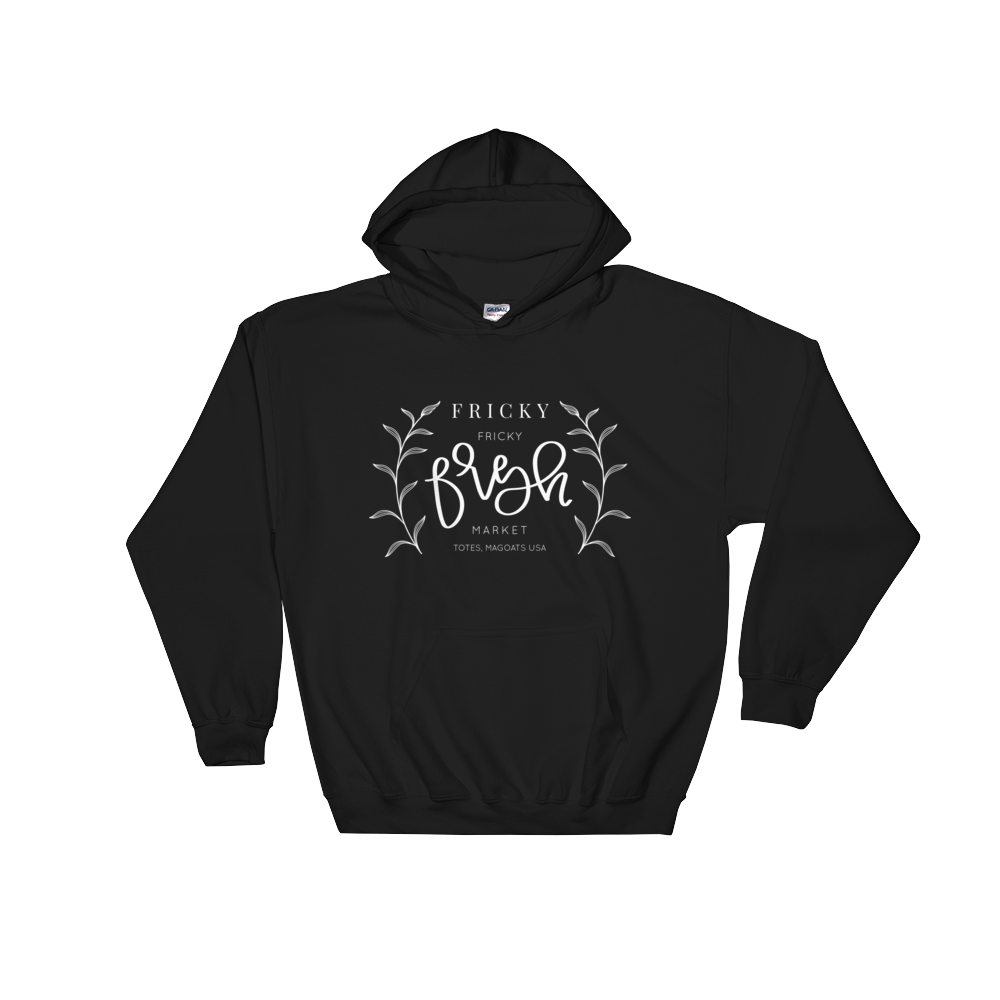 Fricky Fresh Market - Hooded Sweatshirt - lefty.script