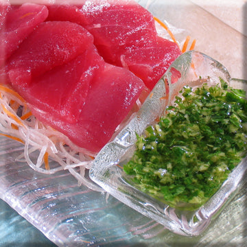 Sashimi with Mac Ginger Sauce