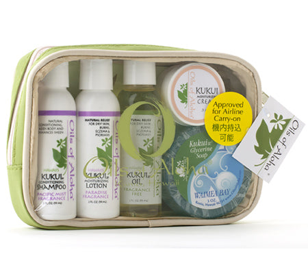 KUKUIæ Skin and Hair Care Travel Tote