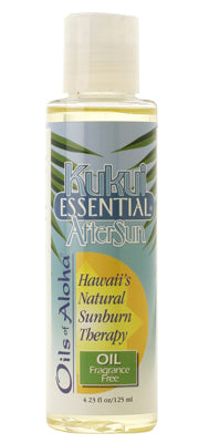 Kukui Essential AfterSun Oil Fragrance Free