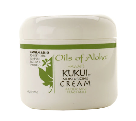 KUKUIæ Moisturizing Cream with Pacific Mist Fragrance 4oz