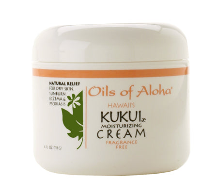 KUKUIæ Moisturizing Cream Fragrance Free 4oz