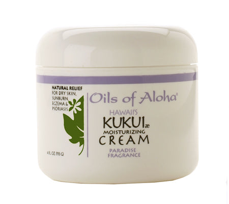 KUKUIæ Moisturizing Cream with Paradise Fragrance 4oz