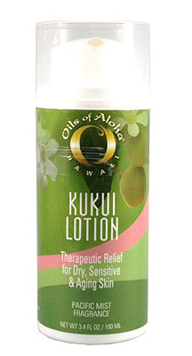 KUKUIæ Moisturizing Lotion Pacific Mist Fragrance with Organic Kukui Oil