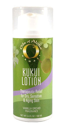 KUKUIæ Moisturizing Lotion Vanilla Orchid Fragrance with Organic Kukui Oil