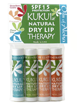 KUKUIæ Natural Dry Lip Therapy Gift Pack