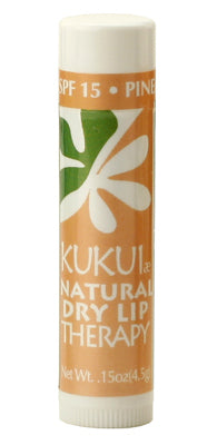 KUKUIæ Natural Dry Lip Therapy Pineapple