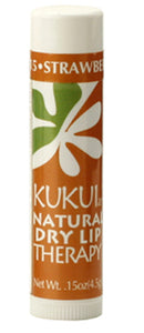 KUKUIae Natural Dry Lip Therapy Strawberry-Guava