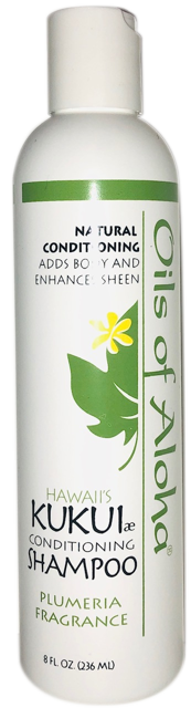 KUKUIæ Conditioning Shampoo with Plumeria Fragrance