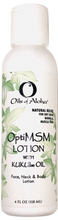 OptiMSM lotion with KUKUIae Oil