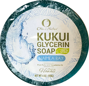 KUKUIæ Waimea Bay Soap 4oz
