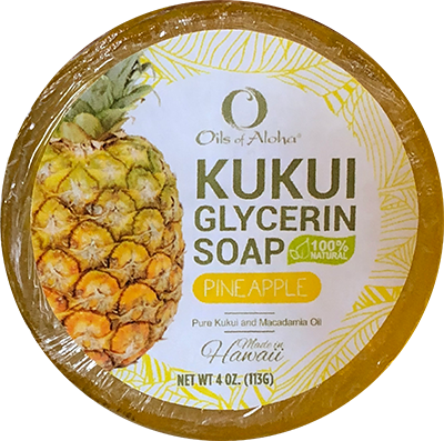 KUKUIæ Pineapple Soap 4oz