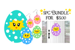(Instant Print) Digital Download - 5pc Chick in egg bundle - made for our sublimation blanks