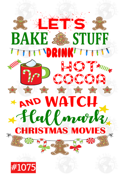 Sublimation print - Hallmark Movies #1075